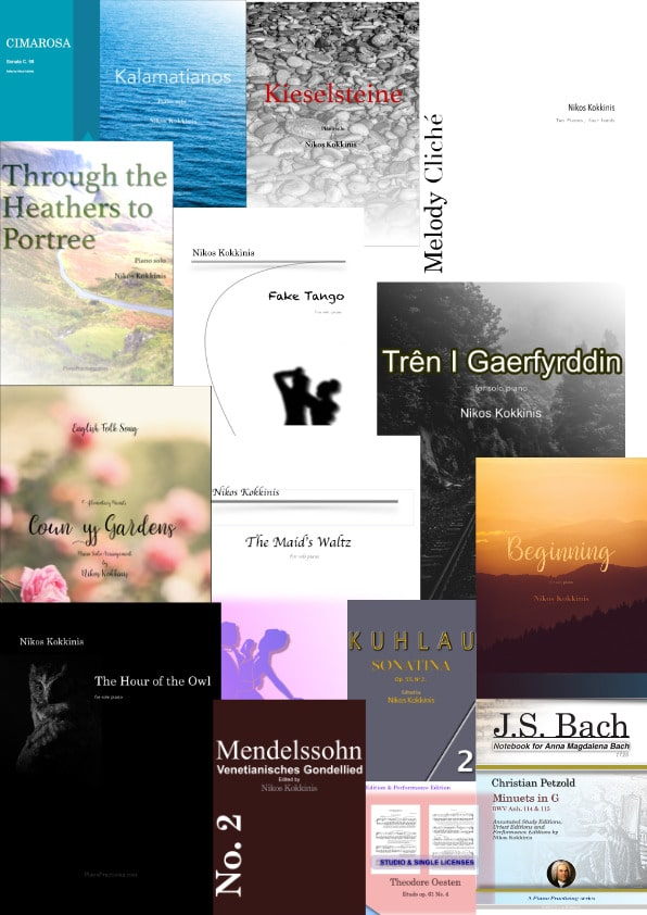Piano music bundle