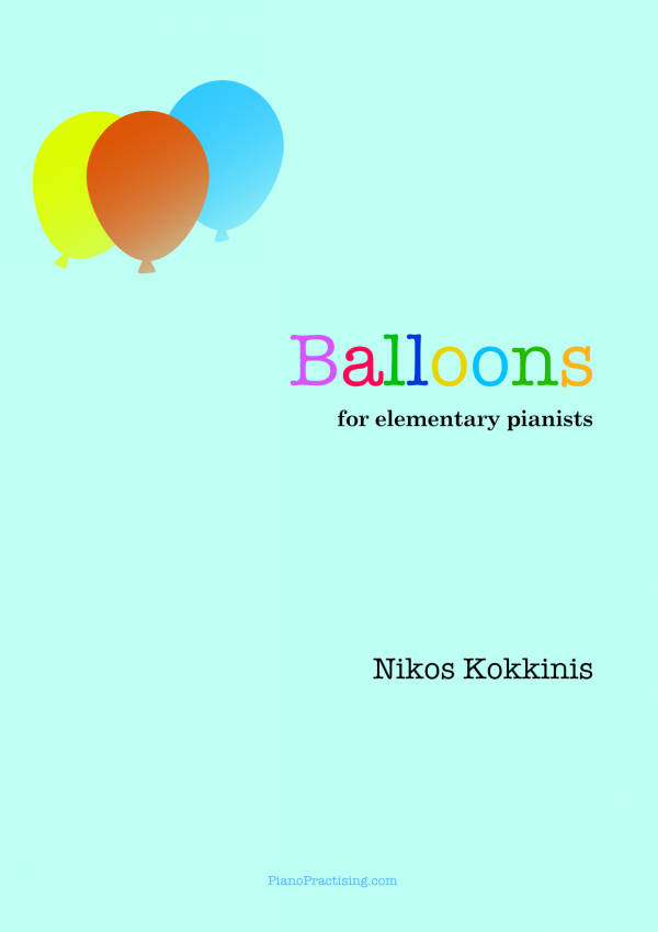 Balloons for solo piano