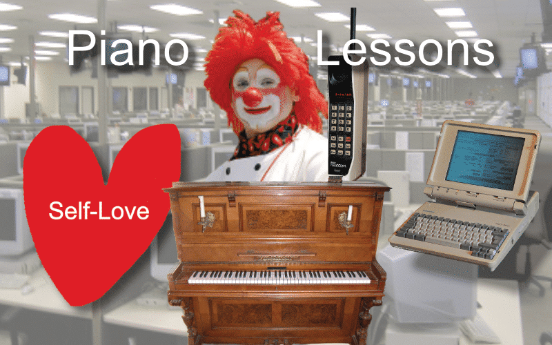 online piano lessons setup